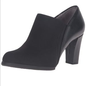 """Life Stride Black """"Lexi"""" Bootie with Memory Foam"""